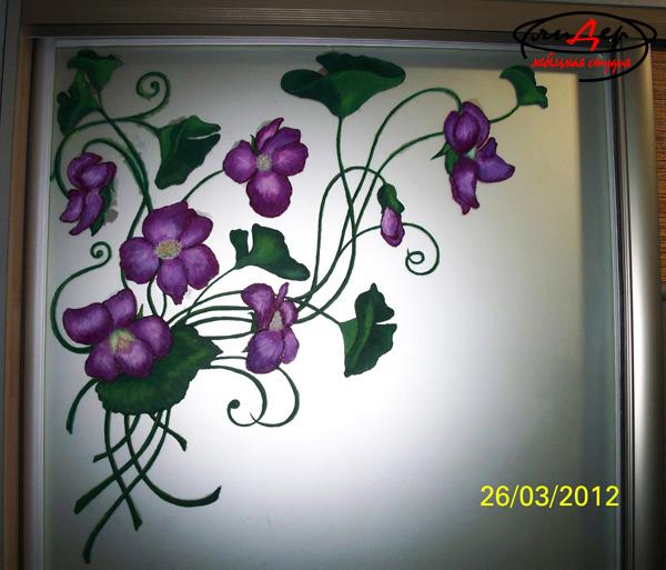 Шкаф-купе с фасадами - Художественная Роспись